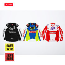 【先行受注】 WEEK12 SS18 SUPREME x FOX RACING/JERSEY TOP