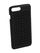 【Christian Louboutin】Loubiphone Case iPhone7+ Black Spikes