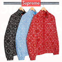 12 week SS18 Supreme Bandana Track Jacket