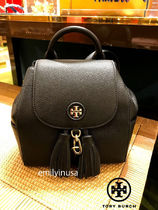 即発 TORY BURCH★WHIPSTITCH LOGO MINI BACKPACK 48362