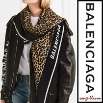 【国内発送】Balenciaga スカーフ Printed modal and silk-blend