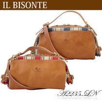 IL BISONTE キャンディバッグ ショルダーバッグ A2235..LN LINO