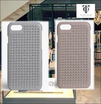 THE CASE FACTORY★IPHONE 7/8 BORCHIE SILVER NAPPA