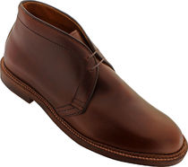ALDEN 13781 - CHUKKA BOOT LEATHER SOLE - BROWN CHROMEXCEL