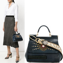 18SS DG1591 EMBELLISHED MEDIUM SICILY BAG