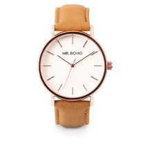 MR.BOHO☆CADET 36mm 腕時計 / Copper Suede