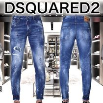 2018SS D SQUARED2 股下深め スキニージーンズ