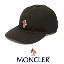MONCLER GRENOBLE  Embroidered-logo キャンバスキャップ