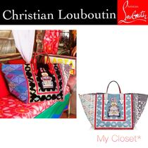 Christian Louboutin バッグ A4 マニラカバ 限定 スタッズ ★