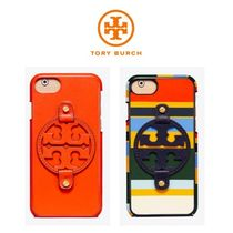【TORY BURCH】 Miller Leather Case For iPhone8