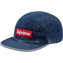 Week12 18S/S Supreme Denim Camp Cap Blue  キャンプキャップ