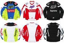 18S/S Supreme Fox Racing Moto Jersey Top