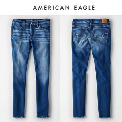 American Eagle Outfitters デニム・ジーパン ☆American Eagle Outfitters☆ デニムクロップジェギンパンツ
