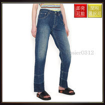 【ロエベ】Embroidered Phone Jeans Blue