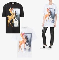 【GIVENCHY】2色展開◆バンビプリントTシャツ