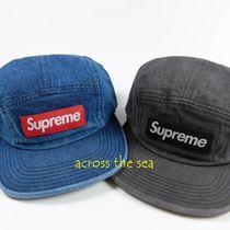 ★Supreme★Denim Camp Cap  SS18 WEEK12