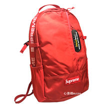 18ss Supreme Backpack RED / Black