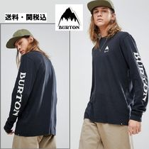 Burton Snowboards Elite Long Sleeve トップスリーブロゴ
