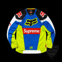 SS18 SUPREME FOX RACING MOTO JERSEY TOP MULTICOLOR 送料無料
