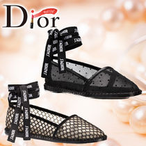 18AW 新作 《DIOR》 Nicely-D メッシュ エスパドリーユ ☆2色☆
