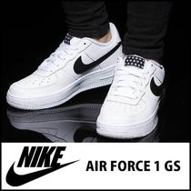 NIKE★AIR FORCE1 GS★ナイキエアーフォース★ホワイト★23-25cm