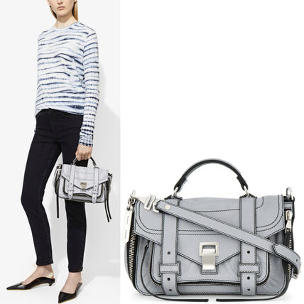 Proenza Schouler ハンドバッグ 18SS PS127 ZIP PS1+ TINY SATCHEL