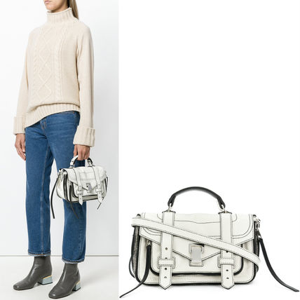 Proenza Schouler ハンドバッグ 18SS PS128 ZIP PS1+ TINY SATCHEL