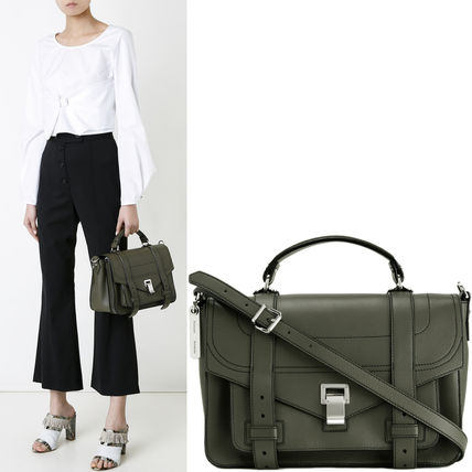 Proenza Schouler ハンドバッグ 18SS PS129 PS1+ MEDIUM SATCHEL