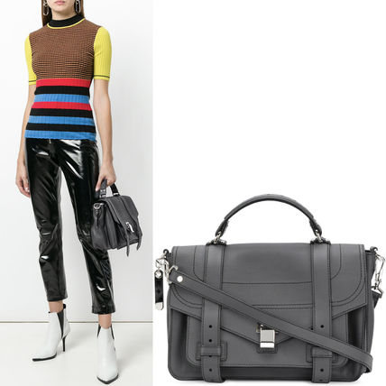 Proenza Schouler ハンドバッグ 18SS PS133 PS1+ MEDIUM SATCHEL