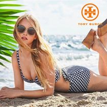 【TORY BURCH】GINGHAM LONG-LINE * 水着 <上下セット>