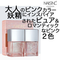 NAILS INC☆大人の妖精ピンク2個入り☆女子力アップ間違いなし!