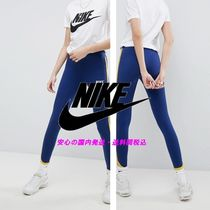 NIKE☆ Archive Leggings In Blue With Piped Trim♪