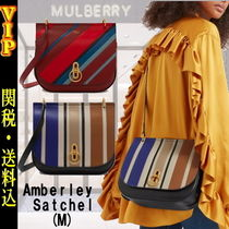 "◆VIP◆ キャサリン妃愛用 Mulberry ""Amberley"" Satchel (M) Bag"