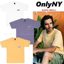 ONLY NY(オンリーニューヨーク) Tシャツ・カットソー 【送料無料・関税込】ONLY NY☆胸ポケットロゴ入り*Tシャツ*3色