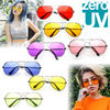 手持在庫★zeroUV★Retro Metal Color Tinted Lens Aviator 8405