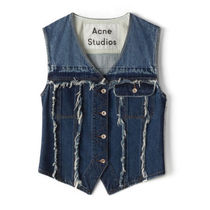 Acne(アクネ)Kandra denim jacket  #indigo blue ベスト デニム