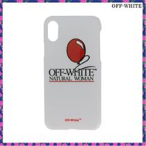 OFF-WHITE*Natural Woman iPhone X ケース*関税込み
