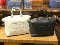TORY BURCH★Bombe Satchel 2wayショルダー 長財布OK