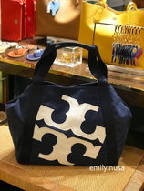 新作☆TORY BURCH★Beach logo tote トート A4収納OK*48382