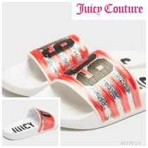 【JUICY BY JUICY COUTURE 】スパンコール☆シャワーサンダル