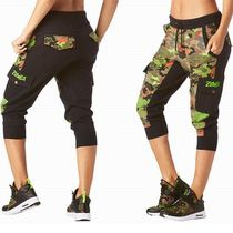 ☆ZUMBA・ズンバ☆ Club Camo French Terry Cargo Capris