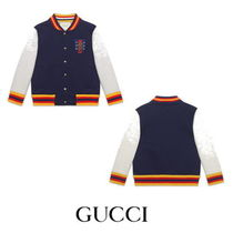 【GUCCI】Children's bomber jacket with crest