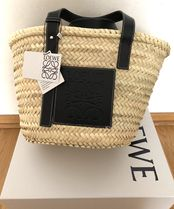 在庫確保済【LOEWE】18SS新作  Basket Medium Bag (Black)