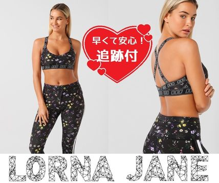 Lorna Jane フィットネストップス ★追跡有【Lorna Jane】Power Ditzy Sports Bra★