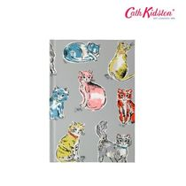 Cath Kidston★CATS HARD COVER NOTEBOOK ライトグレー