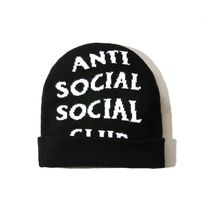 【翌日国内発送】ANTI SOCIAL SOCIAL CLUB Jaccardo Black