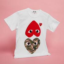 COMME des GARCONS(コムデギャルソン) Play Mix Heart Tシャツ