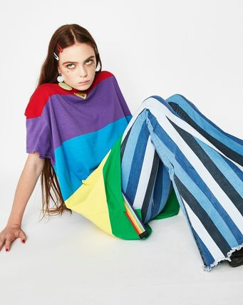 LAZY OAF Tシャツ・カットソー 可愛すぎる☆レインボー∞Tシャツ∞LAZY OAF(5)