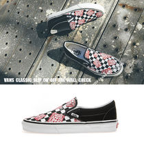VANS★CLASSIC SLIP ON★OFF THE WALL CHECK★ロゴ★チェック柄