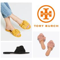 【TORY BURCH】ANNABELLE SUEDE BOW SLIDE